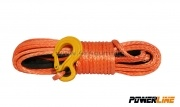 Synthetic rope PowerLine 10 mm / 28 M with hook