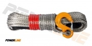 Синтетично въже PowerLine Safety Red 10 mm / 28 M с кука